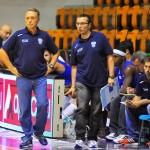 Coach Bucchi e l'assistant-coach Michelutti