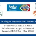 Banco Di Sardegna Sassari-Enel Basket Brindisi
