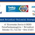 Enel Basket Brindisi-Dolomiti Energia Trento