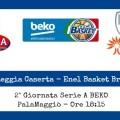 Pasta Reggia Caserta-Enel Basket Brindisi