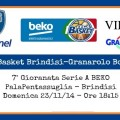 Enel Basket Brindisi-Granarolo Bologna