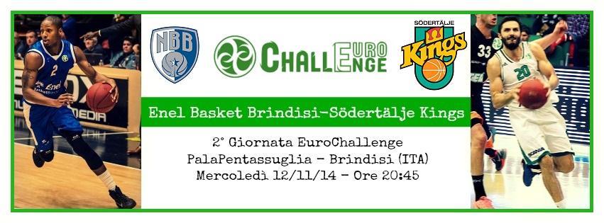Enel Basket Brindisi-Södertälje BK