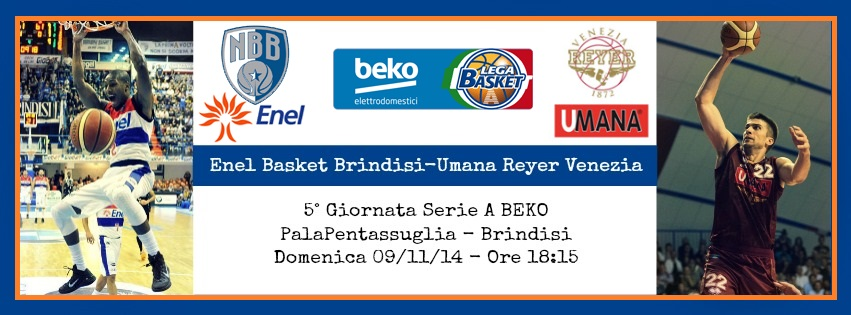 Enel Basket Brindisi-Umana Reyer Venezia