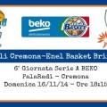 Vanoli Cremona-Enel Brindisi