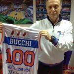2014 - Bucchi 100 presenze