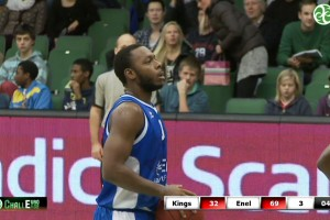 Ecco gli highlights Södertälje Kings-Enel Basket Brindisi