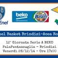 Enel Basket Brindisi-Acea Roma