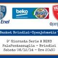Enel Basket Brindisi-Openjobmetis Varese