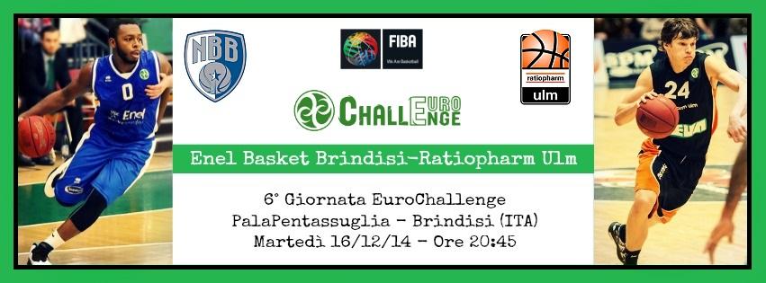 Enel Basket Brindisi-Ratiopharm Ulm