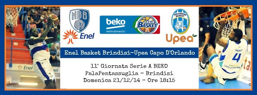 Enel Basket Brindisi-Upea Capo D'Orlando