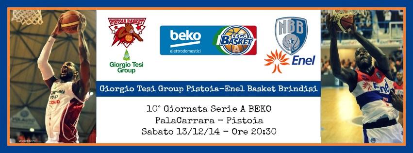 Giorgio Tesi Group Pistoia-Enel Basket Brindisi