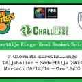 Södertälje BK- Enel Basket Brindisi - EuroChallenge