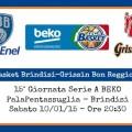 Enel Basket Brindisi-Grissin Bon Reggio Emilia