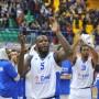 James - Enel Basket Brindisi-BC Astana - Last 16 EuroChallenge (Foto Tasco per La Stella Del Sud - Vietata la riproduzione)