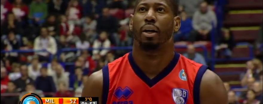 James Mays EA7 Emporio Armani Milano-Enel Basket Brindisi