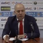 Menetti Sala Stampa Enel Basket Brindisi-Grissin Bon Reggio Emilia recap