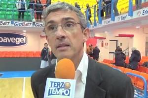 Presidente Nando Marino Terzo Tempo Eurochallenge Brindisi-Astana